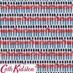 Cath Kidston キャスキッドソン 生地 コットンファブリック<London Guards Multi>(ロンドンガーズ マルチ)衛兵 兵隊 LONDON-GUARDS