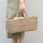 トートバッグ かごバッグ ジュートオーバルバッグ バスケットバッグ クレエ Creer 91930002 トレンド かご カゴ バッグ かごバッグ かごバッグ おしゃれ