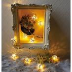 Yahoo!メルシープレゼント 雑貨屋レスイヴェール LEDライト 10球 ボール シルバー ゴールド 照明 ランプ LED マルチカラー イルミネーション おしゃれ クリスマス ツリー LED かわいい