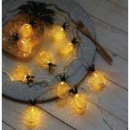 Yahoo!メルシープレゼント 雑貨屋レスイヴェール LEDライト  パイナップル 20球 照明 ランプ LED マルチカラー イルミネーション おしゃれ クリスマス ツリー LED かわいい 400827600