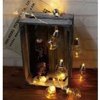 Yahoo!メルシープレゼント 雑貨屋レスイヴェール LEDライト クリアバルブ 10球 電球型 照明 ランプ LED マルチカラー イルミネーション おしゃれ クリスマス ツリー LED かわいい 400827700