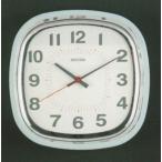 壁掛け時計 スクエアウォールクロック DULTON ダルトン アイボリー グリーン レッド