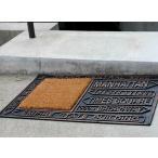 玄関マット マンハッタン ラバーマット RUBBER COIR MAT MANHATTAN ゴムマット ガーデンマット・エントランスマット