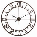 ショッピング掛け時計 アイアンダイヤル ラージクロック  時計 掛け時計  壁掛け時計 クロック  コベントガーデン