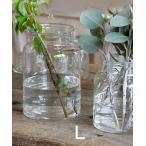 リューズガラス フラワーベース アンプル Lサイズ Horn Please 志成販売 フラワーベース/木/花/フラワー/フラワーグラス/花瓶 ガラス/ガラス