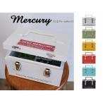 マーキュリー スクエアツールボックス mercury ブリキ ツールボックス 工具入れ 工具箱 ペンケース ステーショナリーボックス 小物入れ