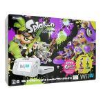 【新品】 任天堂 Wii U スプラトゥーンセット シロ 32GB (amiiboアオリ・ホタル付き) Nintendo(ニンテンドー) ※保証書あり(無記名) A1069