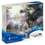 【新品】 PlayStation4 MONSTER HUNTER: WORLD Starter Pack White CUHJ-10023 PS4 モンハン 薄型 ※保証書あり(他店舗印) H1802016