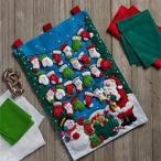 「Mittens&Stockings Advent Calendar」《日本語基本ガイド付き》Bucilla  ブシラ クリスマス ハンドメイド フェルト アドベントカレンダーキット