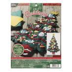 「MERRY & BRIGHT XMAS TREE/LIGHT」《日本語基本ガイド付き》Bucilla  ブシラ クリスマス ハンドメイド フェルト アドベントカレンダーキット アップリケ