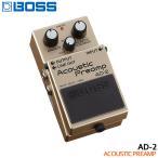 BOSS アコースティックプリアンプ AD-2 ボスコンパクトエフェクター