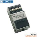 旧パッケージ処分アウトレット品 BOSS ベースイコライザー GEB-7 Bass Equalizer ボスコンパクトエフェクター