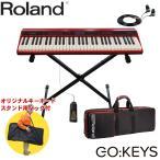 ローランド Roland 軽量キーボード Go KEYS (X型キーボードスタンド・キーボードケース付きセット)