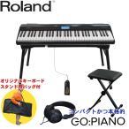 Roland コンパクト 電子キーボード(フルサイズ鍵盤搭載/61鍵) テーブル型スタンド&キーボードイス付き