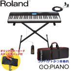 ローランド ピアノ系音色が充実した電子キーボード Go Piano (X型スタンドセット)