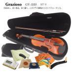コスパ最高の音質 バイオリン Grazioso GV-1H 9点 入