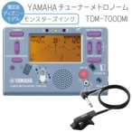 YAMAHA チューナーメトロノーム モンスターズインク TDM-700DMI クリップマイク(ブラック)付き (ヤマハ TDM700DMI)