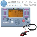 YAMAHA チューナーメトロノーム モンスターズインク TDM-700DMI クリップマイク(ブラック/レッド)付き (ヤマハ TDM700DMI)