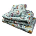 お昼寝布団 7点セット スヌーピー ブルー 子供 ベビー お昼ねふとん お昼寝布団セット