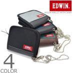 【全4色】 EDWIN エドウィン ウォレット 二つ折り ナ