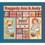 2017年 ラガディ アン&アンディ 壁掛けカレンダー