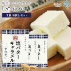 国産純白バターを使用した濃厚なキャラメル 弘乳舎 塩バターキャラメル「やわか。」 60g × 3P【メール便送料無料】[常温] 【3〜4営業日以内に出荷】