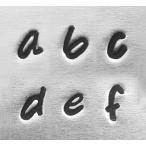 彫金用 Bridgette Low*3mm小文字フォント英語アルファベットセット 革/レザークラフトにも*ImpressArt おしゃれかわいい
