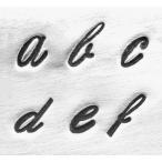 Ħ���� Script Low 4mm����ʸ���Ѹ쥢��ե��٥åȹ�����å� ��/�쥶������եȤˤ�*ImpressArt