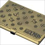 【ONE PIECE】ワンピース 電伝虫メタルカードケース ブラス[ドンキホーテ・ドフラミンゴ] 金属製/名刺入れにも