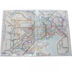 鉄道路線図クリアファイル 首都圏 日本語