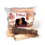 メープル薪5袋セット【送料込】カナダ産(袋入)約12kg×5 暖炉・薪ストーブ用  5 packs of maple firewood shipping included.