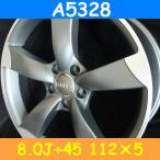 アウディ対応 A5328(8.0J+45 112×5H) (18インチ,マットガンメタ,ホイール,1台分)