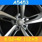 アウディ対応 A5453(8.0J+42 112×5H) (18インチ,ダークグレー,ホイール,タイヤ,1台分)