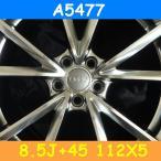 アウディ対応 A5477(8.5J+45 112×5H) (19インチ,ハイパーブラック,ホイール,1台分)