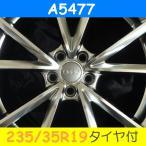 アウディ A4/S4(B6,B7/8E系),A4カブリオレ(B6,8H系)対応 A5477(235/35R19) (19インチ,ハイパーブラック,ホイール,タイヤ,1台分)