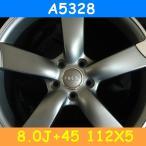 アウディ対応 A5328(8.0J+45 112×5H) (19インチ,マットガンメタ,ホイール,1台分)