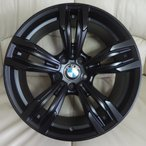 BMW 6シリーズ F06,F12,F13対応 B5456(245/40,275/35R19) (19インチ,マットブラック,ホイール,タイヤ,1台分)