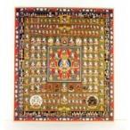 仏画色紙 胎蔵界曼荼羅 84001〔代引き不可〕 トレード