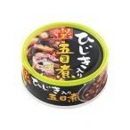 (まとめ)ホテイフーズ ふる里 ひじき入り五目煮75g 1缶〔×30セット〕