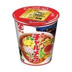 (まとめ)明星食品 チャルメラカップ しょうゆ69g 1ケース(12食)〔×4セット〕