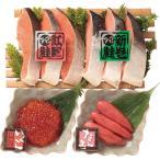 《お中元 ギフト》《送料無料》鮭&魚卵セット 御中元 贈り物 贈答品 夏 ギフト 水産物 海鮮 グルメ メーカー直送 アップデート