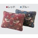 川島織物セルコン モリスデザインスタジオ いちご泥棒 ピロークッションカバー 40×30cm LL1710