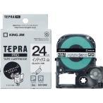 テプラ PRO用テープカートリッジ インデックスラベル 白 SSY24K [黒文字 24mm×8m]