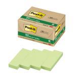 Post-it 再生紙ふせん 5001-G グリーン