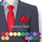 ポケットチーフ 色で選べる 全20色 結婚式 パーティー キッズ カジュアル フォーマル MHA 21593
