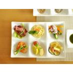 白い食器 kowake 6つ仕切り皿 ホワイトレベル2 【美濃焼/食器/エムズ/訳あり/通販/器/仕切り皿/こわけ/コワケ】