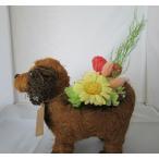 出産祝い 犬 プリザーブドフラワー 誕生日プレゼント