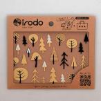 Yahoo Shopping - 布用転写シール irodo(イロド) フォレスト ゴールド・ブラック
