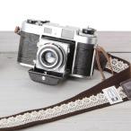 Yahoo Shopping - カメラストラップ camera strap 一眼レフ ミラーレス一眼用 レースブラウン