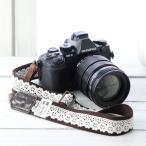 Yahoo Shopping - カメラストラップ camera strap 一眼レフ ミラーレス一眼用 レースブラウン フリータイプ